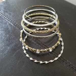 Plus size Bangles, Used good condition
